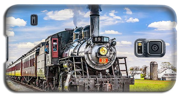 Galaxy S5 Case featuring the photograph Canadian National 89 by Nick Zelinsky