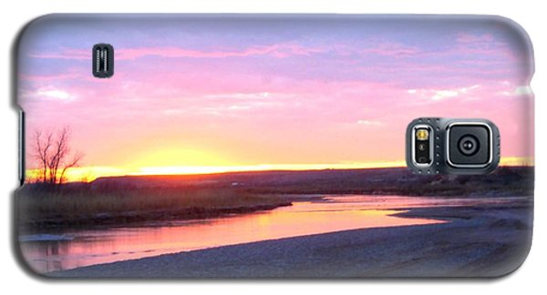 Canadian River Sunset Galaxy S5 Case
