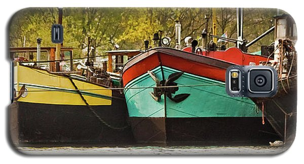 Canal Boats Galaxy S5 Case