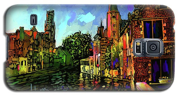 Canal In Bruges Galaxy S5 Case by DC Langer