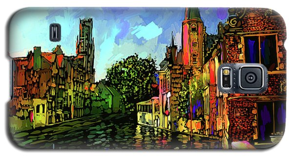 Canal In Bruges Galaxy S5 Case