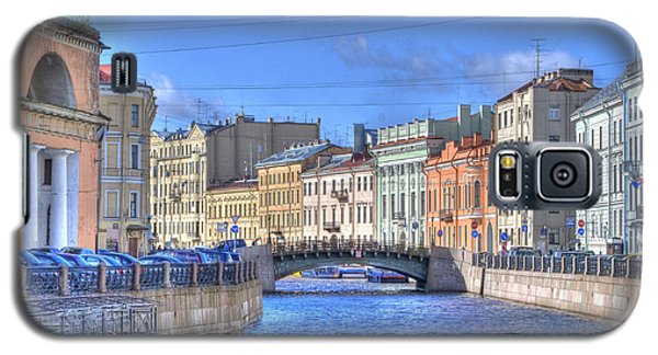 Canal In St. Petersburgh Russia Galaxy S5 Case