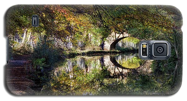 Canal Path In Autumn Galaxy S5 Case