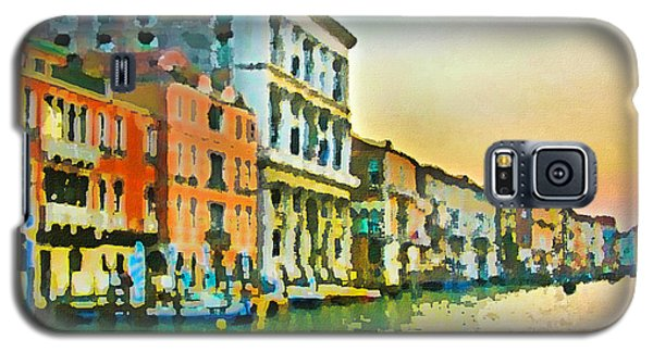 Canal Sunset - Venice Galaxy S5 Case