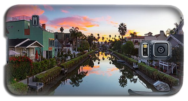 Venice Beach Galaxy S5 Case - Canals Of Venice Beach by Sean Davey
