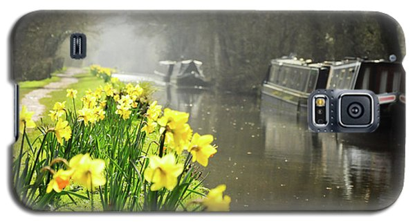 Canalside Daffodils Galaxy S5 Case