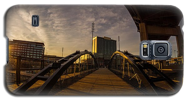 Galaxy S5 Case featuring the photograph Canalside Dawn No 5 by Chris Bordeleau