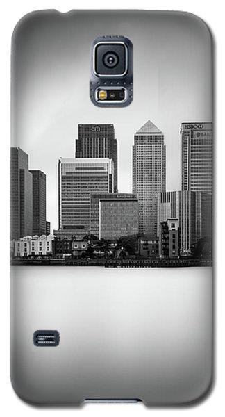 Canary Galaxy S5 Case - Canary Wharf II, London by Ivo Kerssemakers