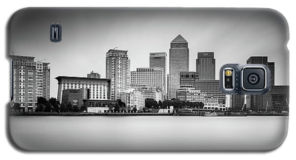Canary Wharf, London Galaxy S5 Case by Ivo Kerssemakers