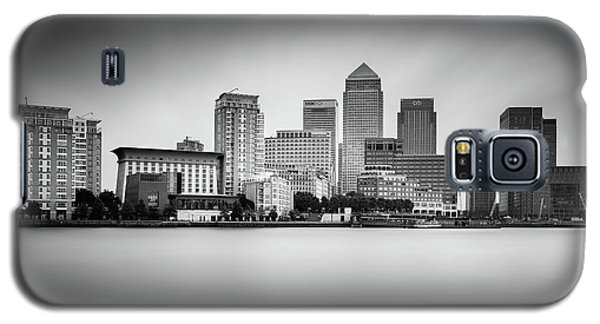 Canary Galaxy S5 Case - Canary Wharf, London by Ivo Kerssemakers