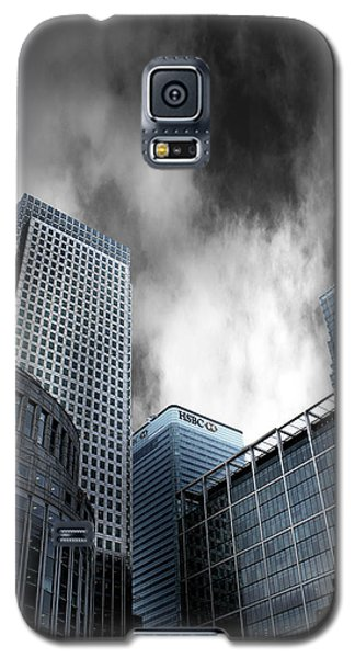 Canary Galaxy S5 Case - Canary Wharf by Martin Newman