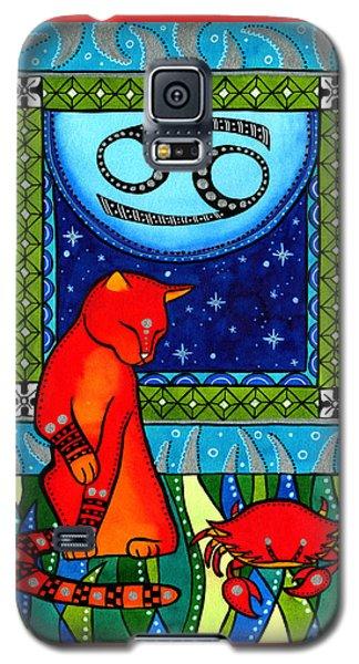 Cancer Cat Zodiac Galaxy S5 Case