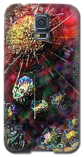 Cancer Cells Galaxy S5 Case