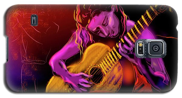 Cancion Del Corazon Galaxy S5 Case by DC Langer