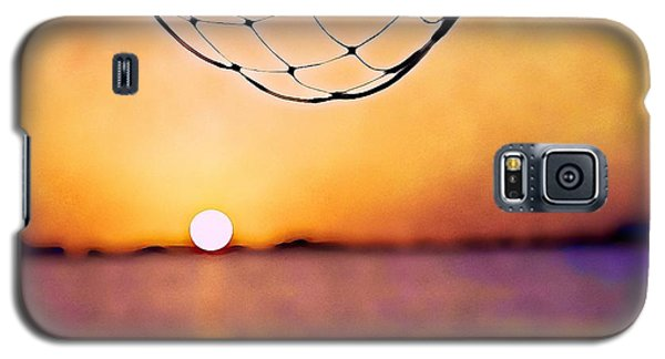 Cancun Sunset On The Lake Galaxy S5 Case