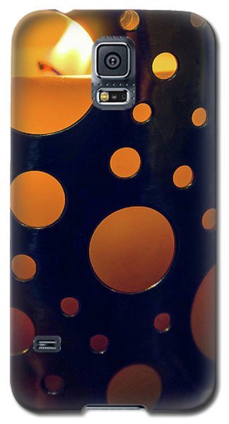Galaxy S5 Case featuring the photograph Candle Holder by Carlos Caetano