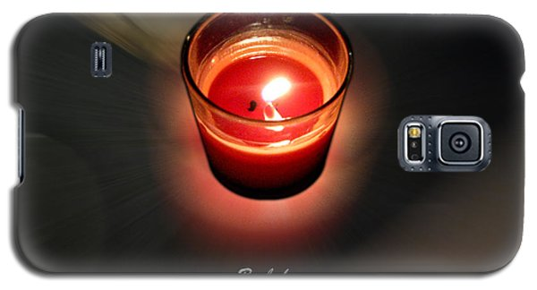 Candle Inspired #1173-3 Galaxy S5 Case