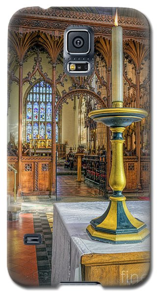 Galaxy S5 Case featuring the photograph Candle Of  Prayer by Ian Mitchell