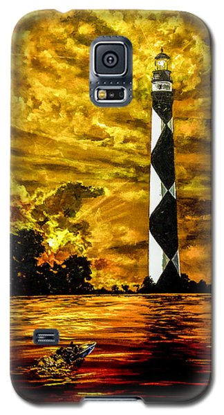 Candle On The Water Galaxy S5 Case