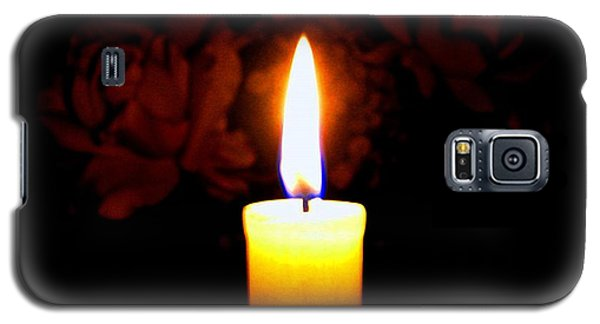 Candlelight And Roses Galaxy S5 Case