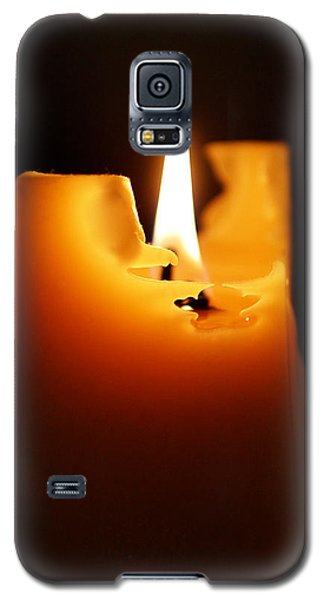 Candlelight Galaxy S5 Case by Rona Black