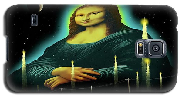 Galaxy S5 Case featuring the digital art Candles For Mona by Scott Ross