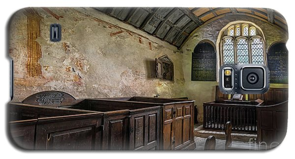 Galaxy S5 Case featuring the photograph Candles In Old Church by Adrian Evans