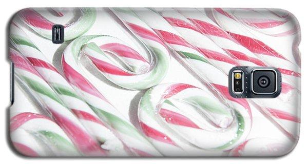 Candy Cane Swirls Galaxy S5 Case