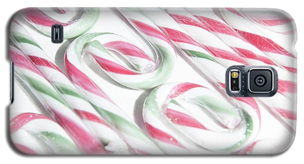 Candy Cane Swirls Galaxy S5 Case