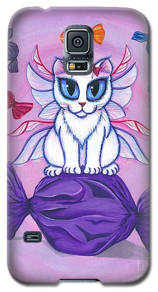 Candy Fairy Cat, Hard Candy Galaxy S5 Case