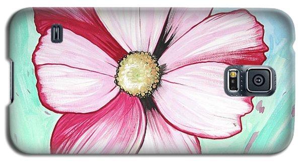 Candy Stripe Cosmos Galaxy S5 Case