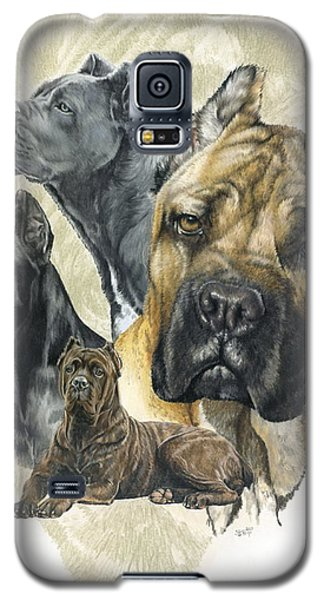 Cane Corso Medley Galaxy S5 Case