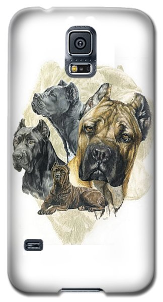 Cane Corso W/ghost Galaxy S5 Case by Barbara Keith