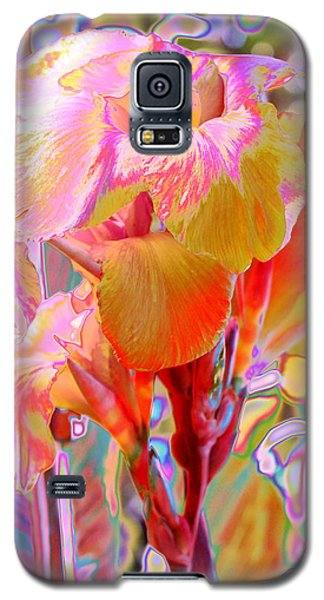 Canna Abstract 3 Galaxy S5 Case by M Diane Bonaparte