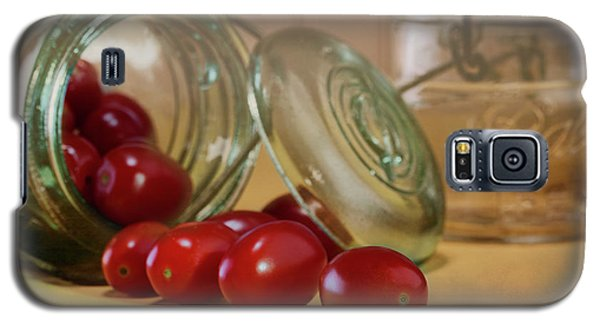 Tomato Galaxy S5 Case - Canned Tomatoes - Kitchen Art by Tom Mc Nemar