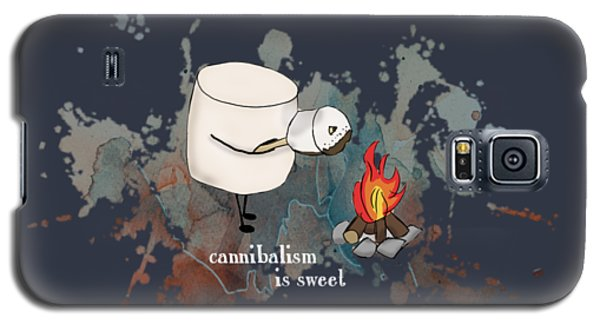 Cannibalism Is Sweet Illustrated Galaxy S5 Case by Heather Applegate