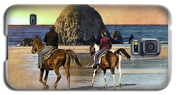 Cannon Beach Galaxy S5 Case by Kenneth De Tore