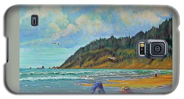 Cannon Beach Kids Galaxy S5 Case