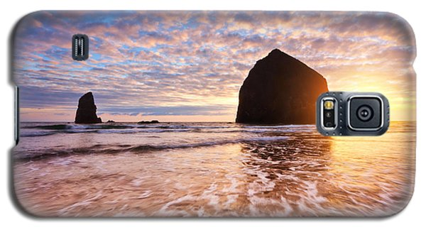 Cannon Beach Sunset Classic Galaxy S5 Case