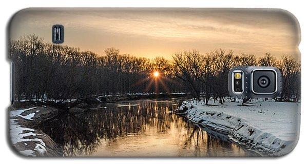 Cannon River Sunrise Galaxy S5 Case by Dan Traun