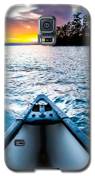 Canoeing In Paradise Galaxy S5 Case