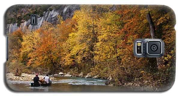 Canoeing The Buffalo River At Steel Creek Galaxy S5 Case