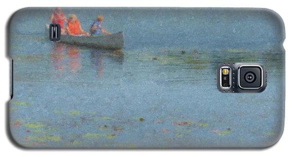 Canoes On Shovelshop Pond Galaxy S5 Case
