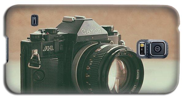 Galaxy S5 Case featuring the photograph Canon A1 by Ana V Ramirez