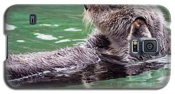 Otter Galaxy S5 Case - Can't Hear You by Mike Dawson