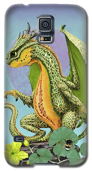 Galaxy S5 Case featuring the digital art Cantaloupe Dragon by Stanley Morrison