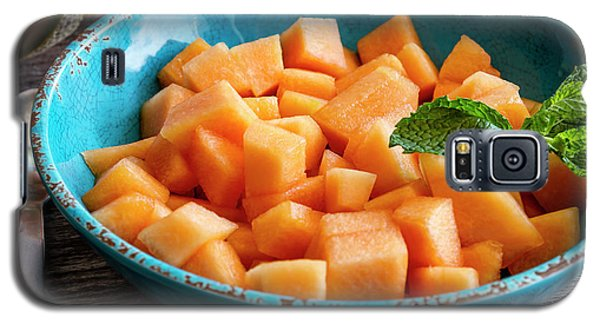 Cantaloupe For Breakfast Galaxy S5 Case