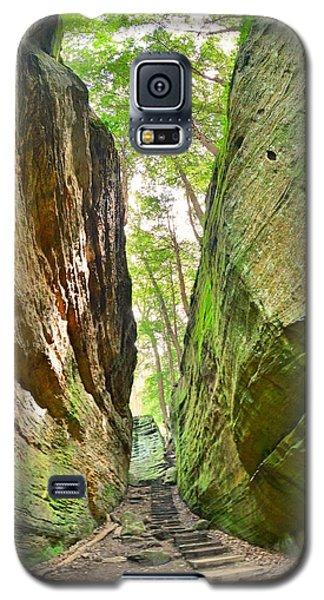 Cantwell Cliffs Trail Hocking Hills Ohio Galaxy S5 Case