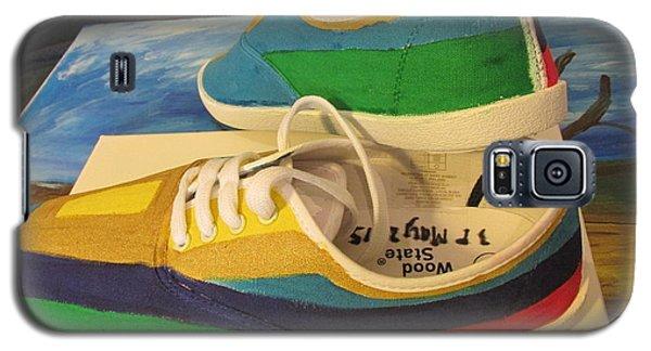 Canvas Shoe Art 003 Galaxy S5 Case