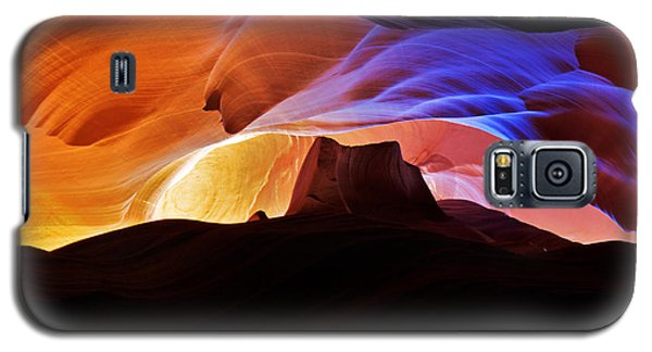 Galaxy S5 Case featuring the photograph Canyon Antelope by Evgeny Vasenev